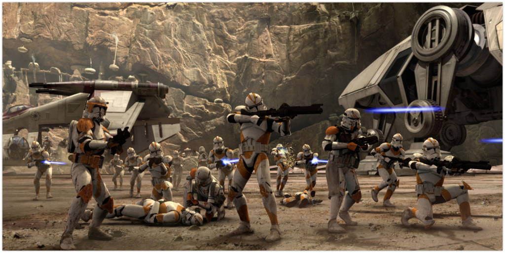 Clone troopers Army corps
